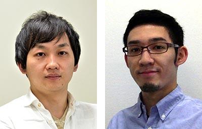 武部貴則(教授、左) 米山鷹介(助教、右)