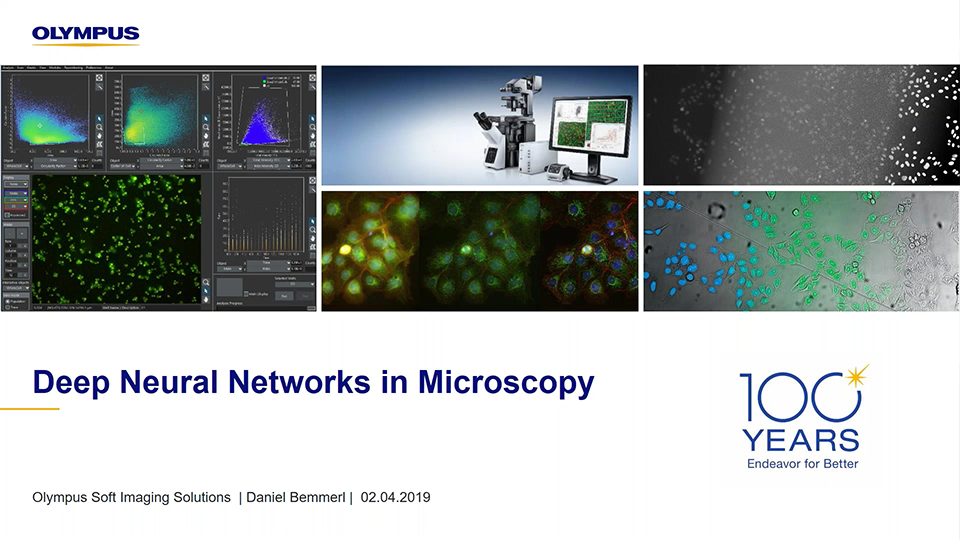 Deep Neural Networks in Microscopy