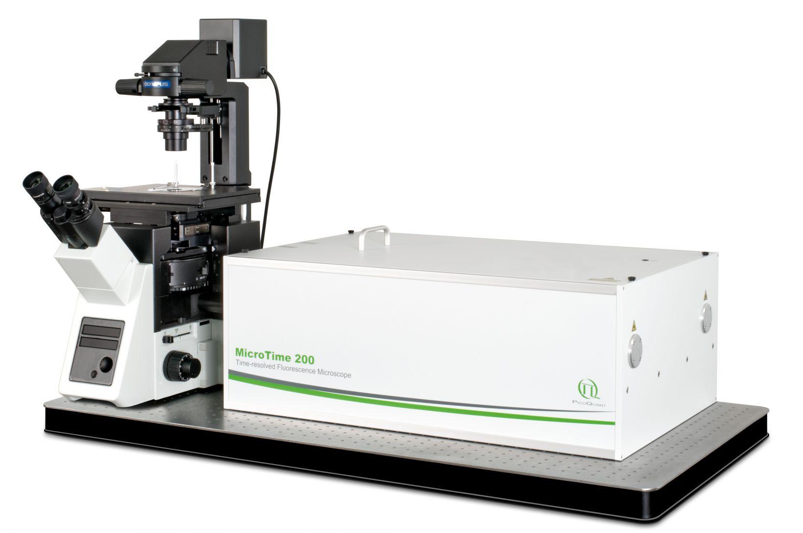 Microscope confocal à résolution temporelle et sensibilité à l'échelle moléculaire