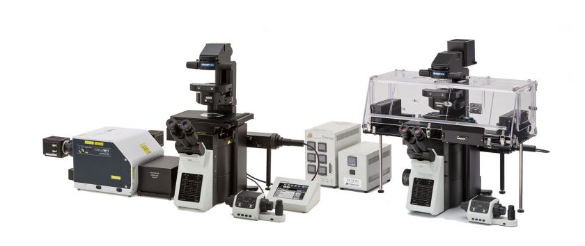 Olympus IXplore microscope systems